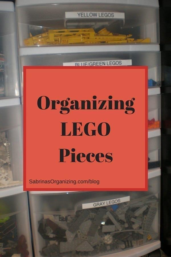 Organizing LEGO Pieces
