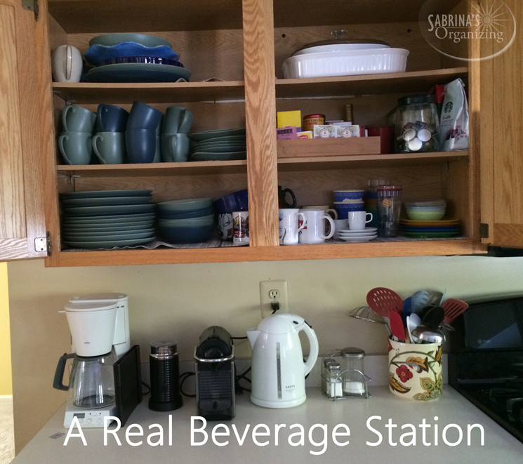 a real beverage station