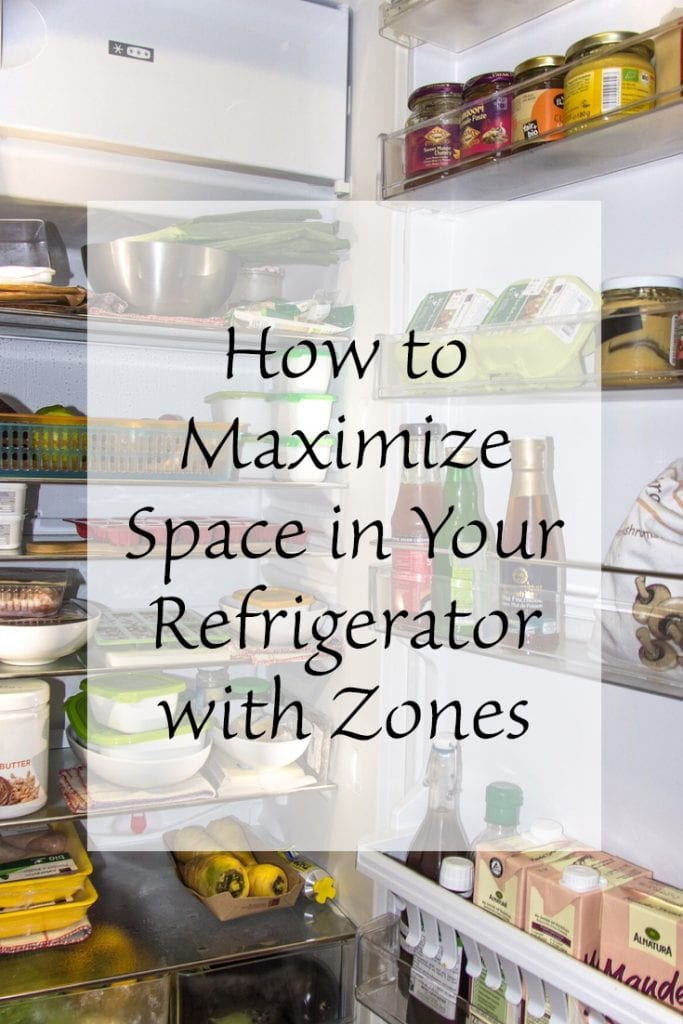 How to Maximize Space in Your Refrigerator with Zones