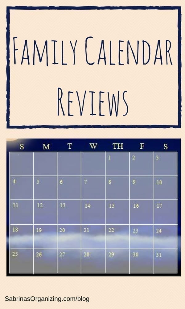 Family Calendar Reviews
