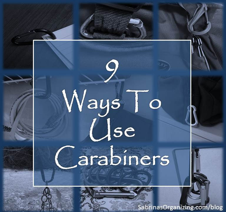 ways to use carabiners