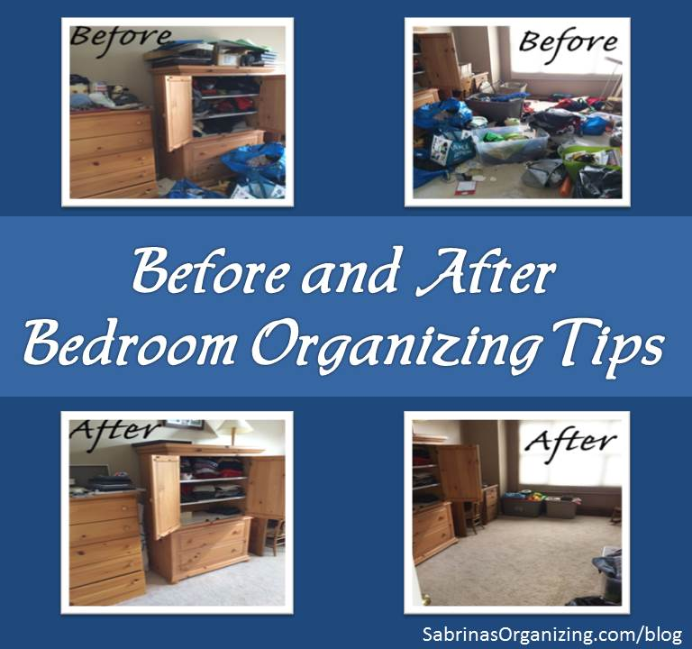 bedroom organizing tips