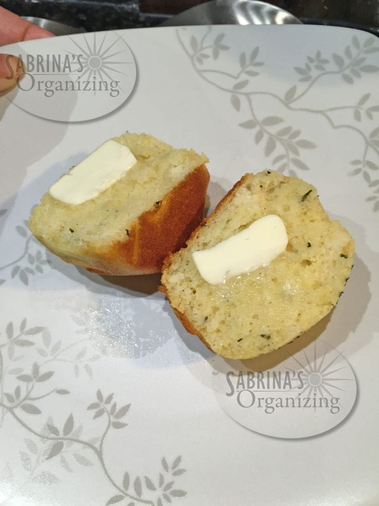 rosemary cornbread and butter