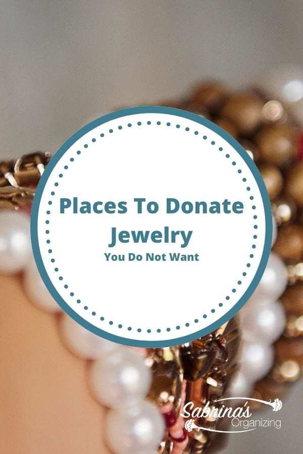 Places to Donate Jewelry You Do Not Want