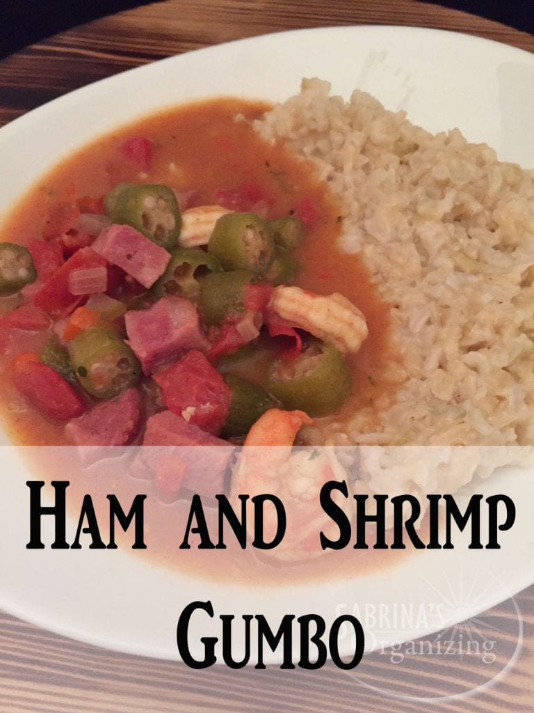 Ham and Shrimp Gumbo Recipe