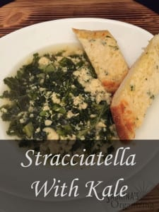 Stracciatella With Kale Soup Recipe| Sabrina's Organizing