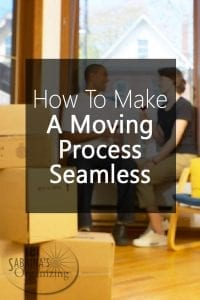 How to make a moving process seamless