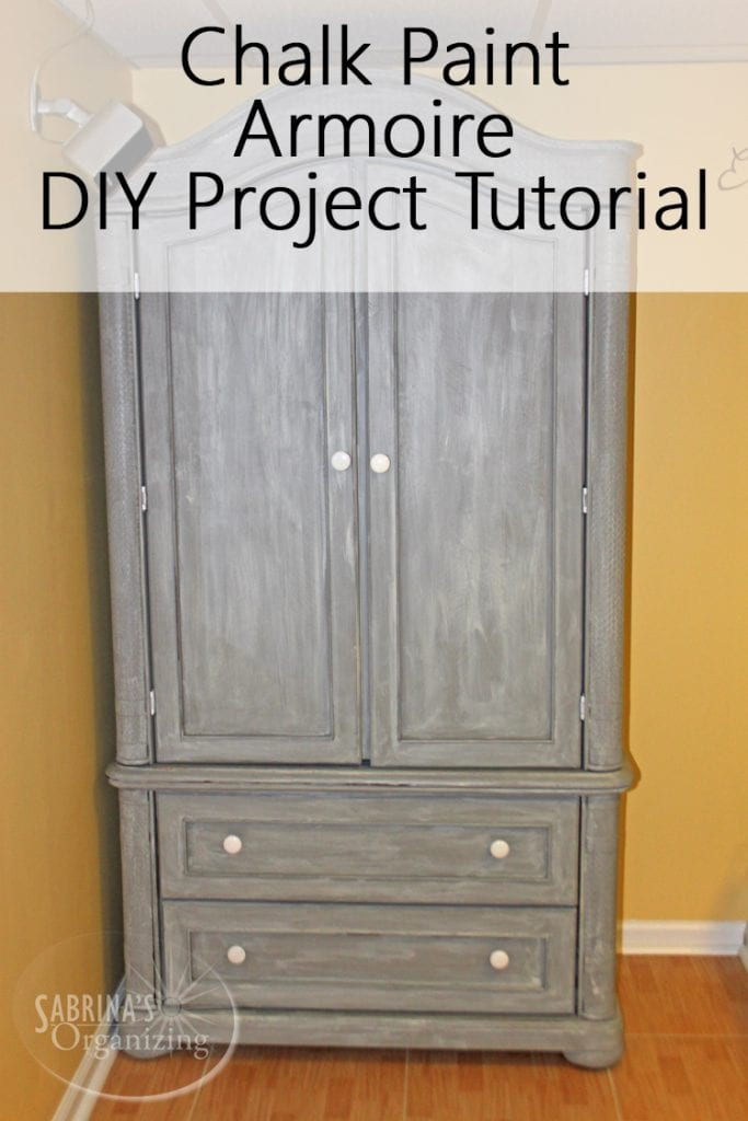 Chalk Paint Armoire DIY Project Tutorial