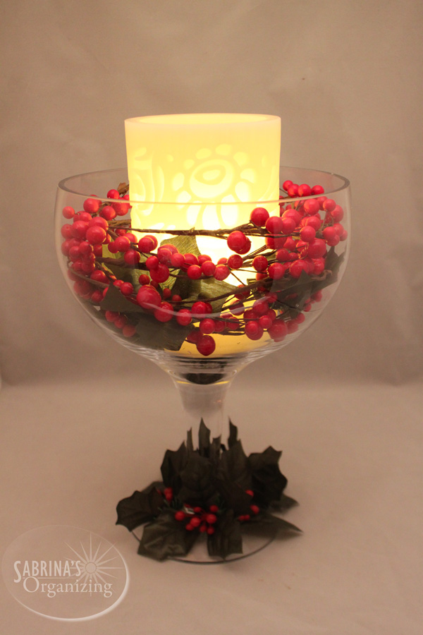 Easy DIY Christmas Centerpiece