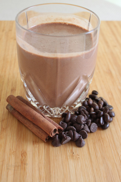 Boosted Chocolate Protein Smoothie