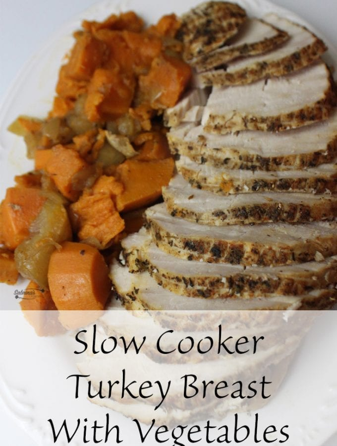 Slow Cooker Turkey Breast With Vegetables