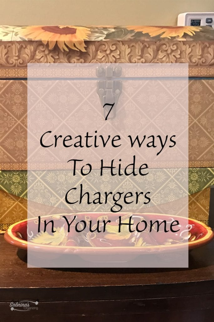 7 Creative Ways to Hide Chargers In Your Home