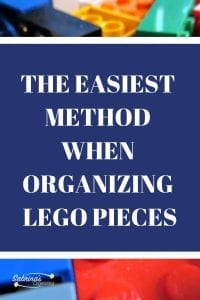Organizing Lego pieces