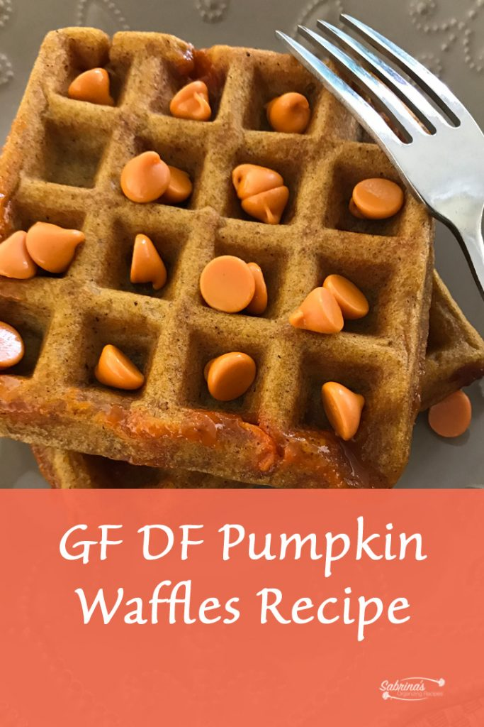 GF DF Pumpkin Waffles recipe