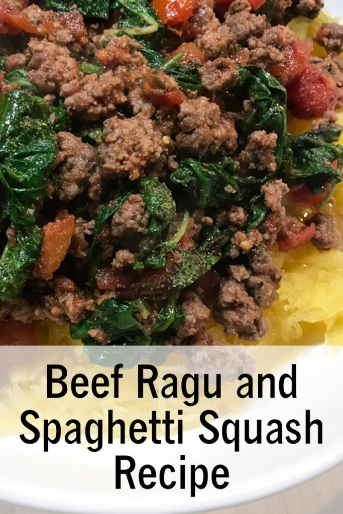 Beef Ragu and Spaghetti Squash recipe