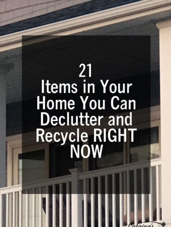 21 items in your home you can declutter and recycle right now