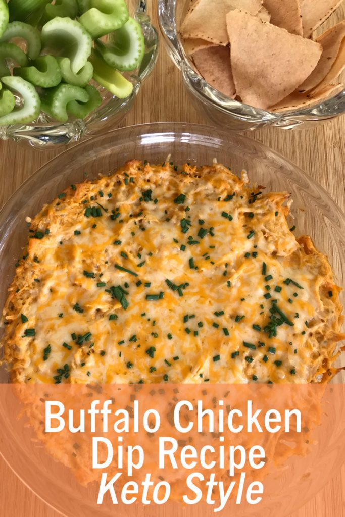 Buffalo Chicken Dip Recipe Keto Style