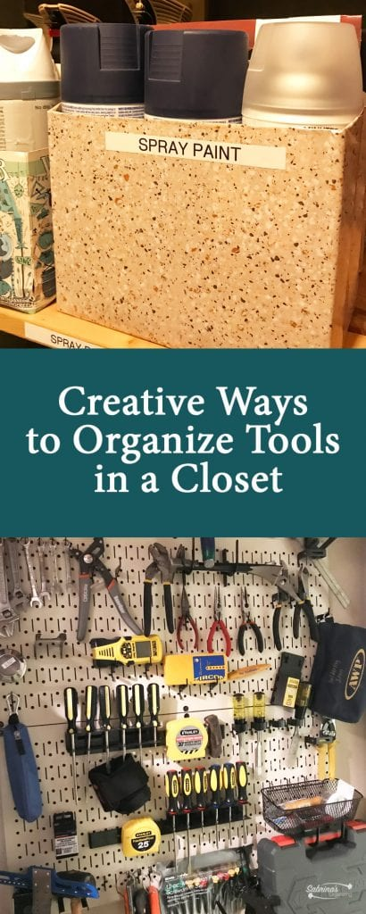 Unique Ways To Decorate Living Room: Creative Ways To Organize Tools In A Closet