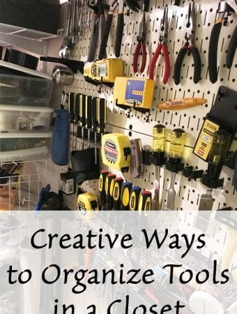 Creative Ways to Organize Tools in a Closet