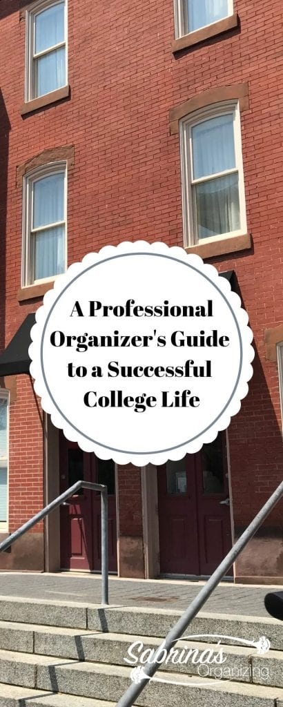 A Professional Organizer's Guide to a Successful College Life