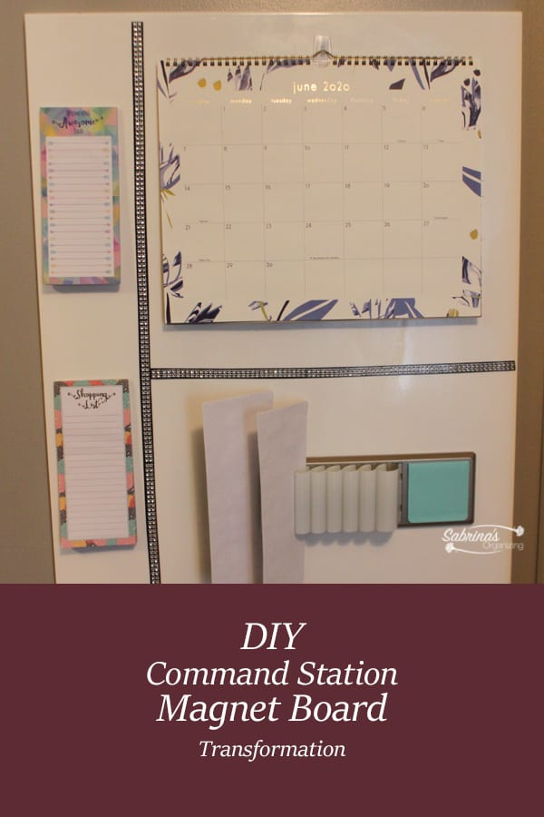 How to Make a DIY Command Station Magnet Board