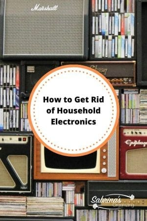 How to Get Rid of Unused Household Electronics