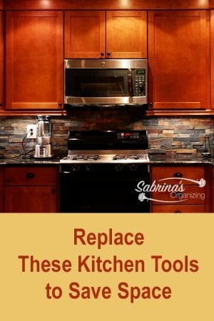 Replace These Kitchen Tools To Save Space